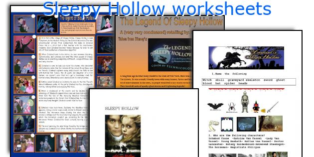 thesis statement for the legend of sleepy hollow The light and dark romantic features in irving,  legend of the sleepy hollow as being light romantic works are chosen to explore the elements of each trend in.
