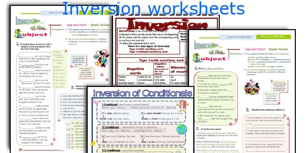 how to teach inversion in english