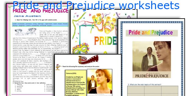 character analysis of pride and prejudice
