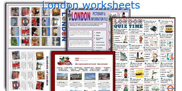 English teaching worksheets: London
