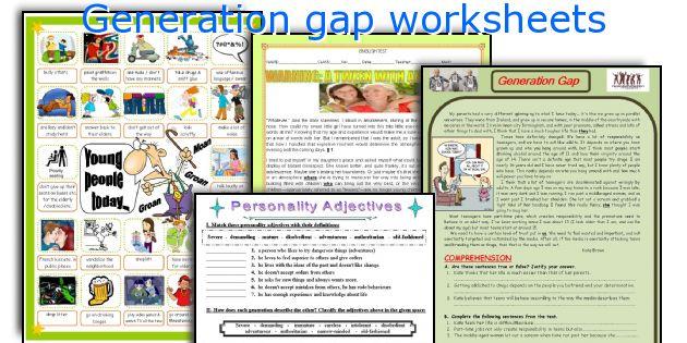 Generation Gap Essays