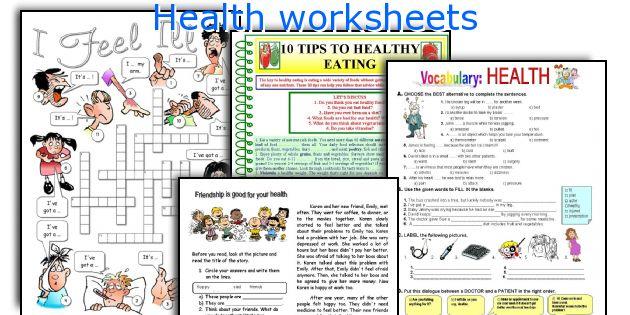 Number Names Worksheets free hygiene worksheets : English teaching worksheets: Health