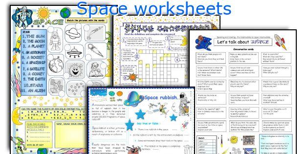 English teaching worksheets Space – Space Worksheets
