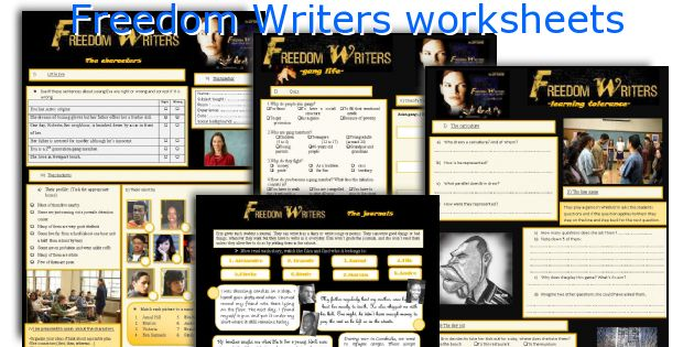 freedom writers character analysis The main characters in the movie are the same as in the book--the students who eventually become known as the freedom writers and their teacher.