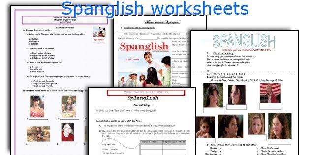 Spanglish paper