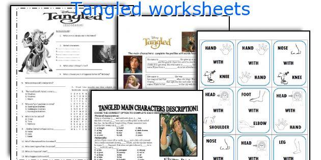 Tangled worksheets