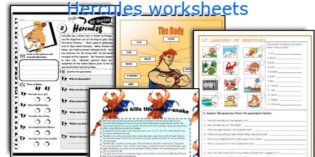 Kleurplaten Disney Hercules.Hercules Worksheets