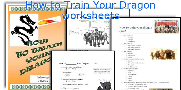 How to train your dragon worksheets howtotrainyourdragonworksheetsg ccuart Image collections