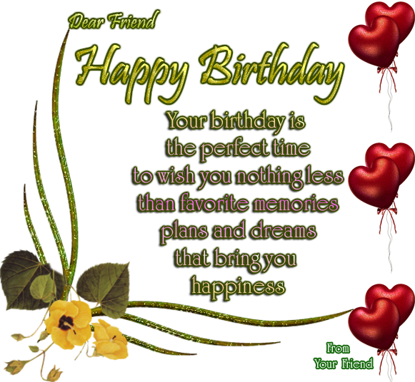 happy birthday best friend poems. happy birthday poems for a