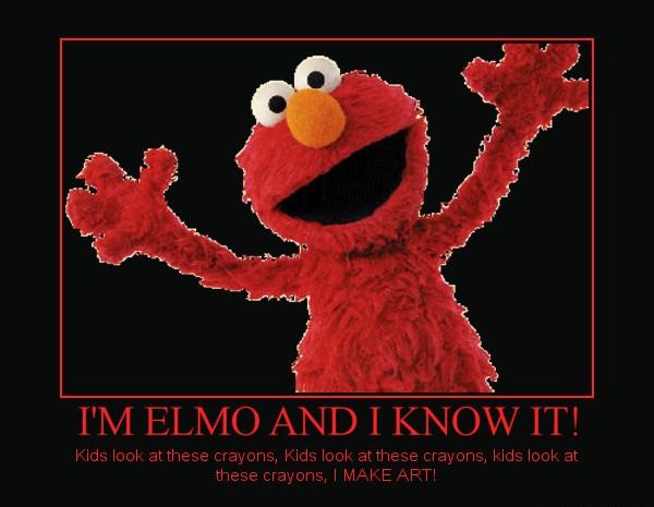 Elmo sexy and i know it foto 298