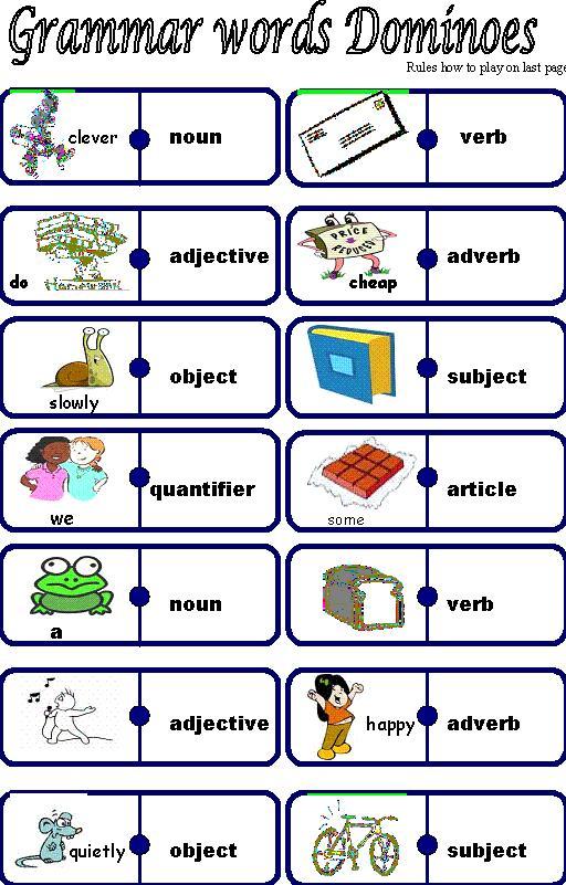 Grammer terms homework help