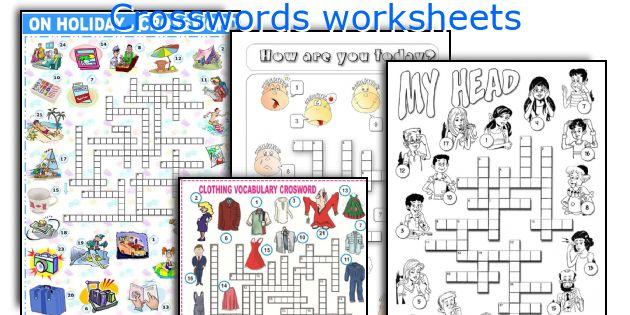 Crosswords worksheets
