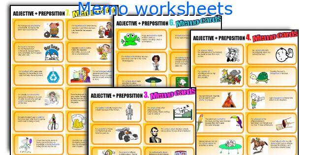 Memo worksheets
