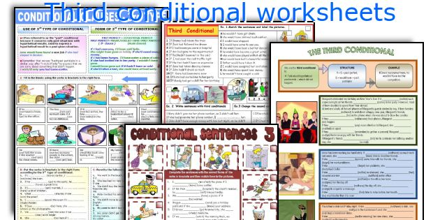 Third conditional worksheets