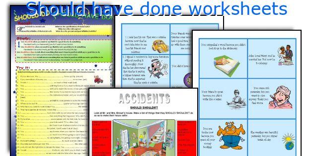 Should have done worksheets