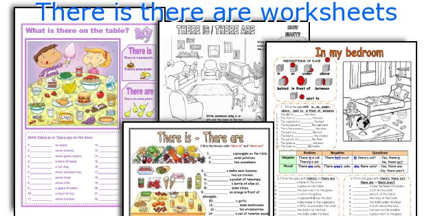 There is there are worksheets