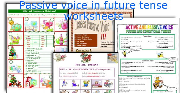 English Teaching Worksheets Passive Voice In Future Tense