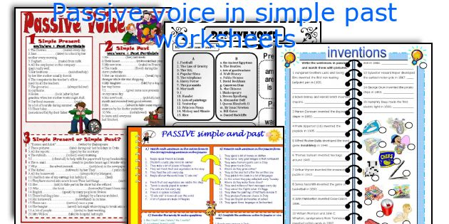 simple past worksheets - The Best and Most Comprehensive Worksheets