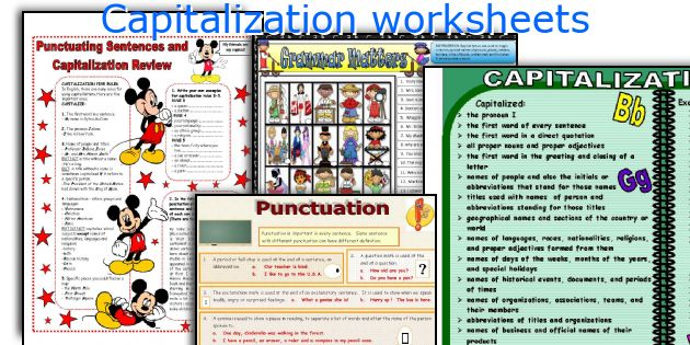Free punctuation worksheets for grade 8