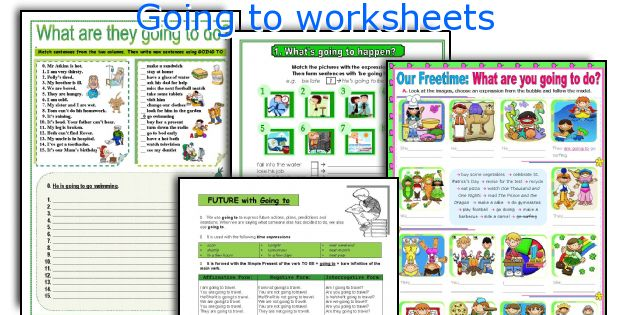 Going to worksheets