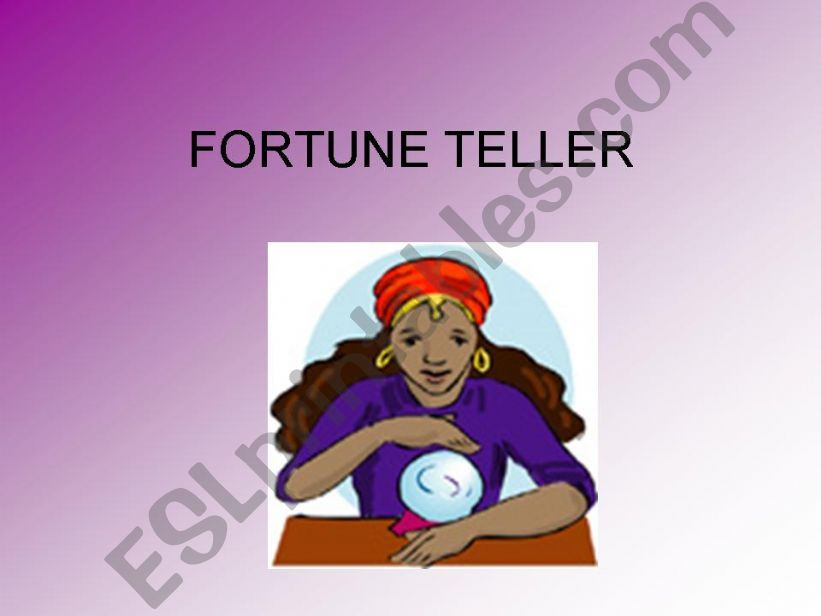 FORTUNE TELLER -game-predict your future