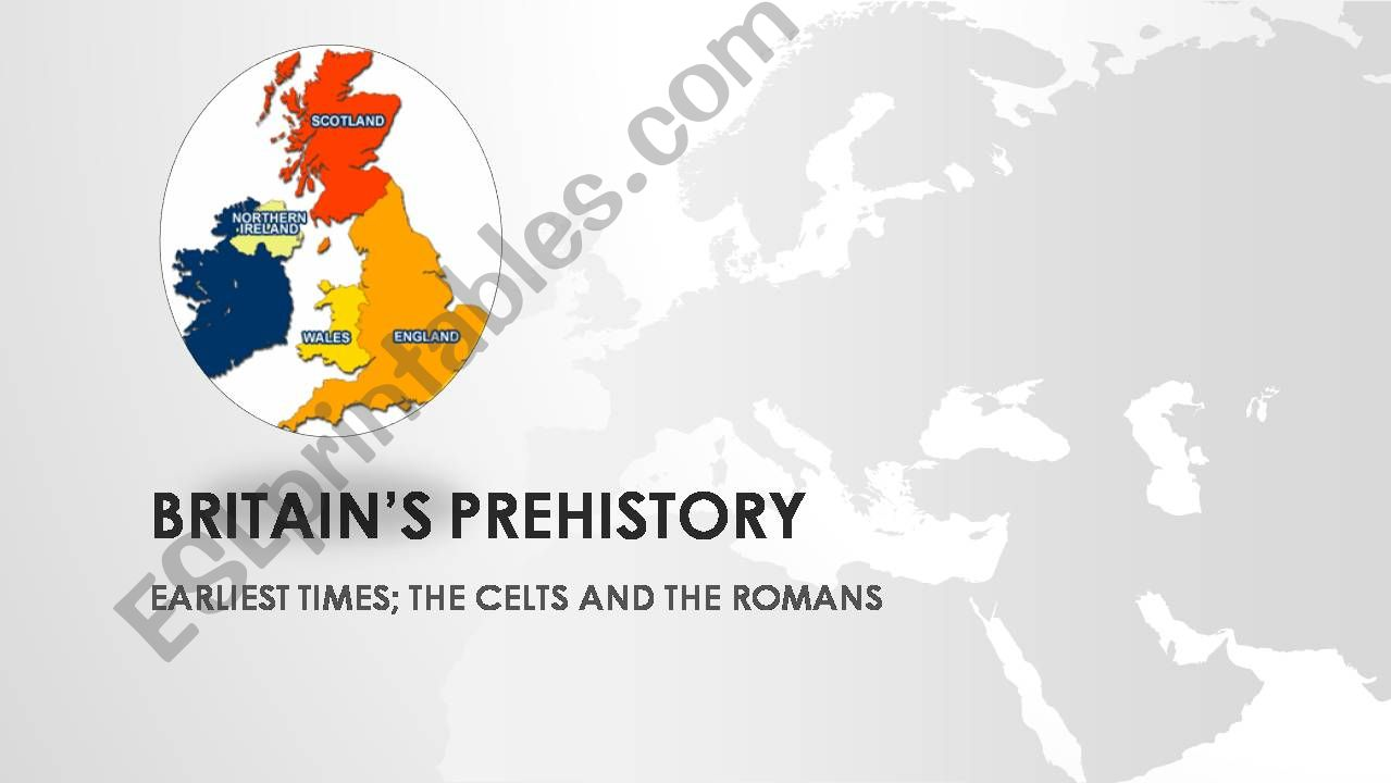 Prehistory in Britain powerpoint