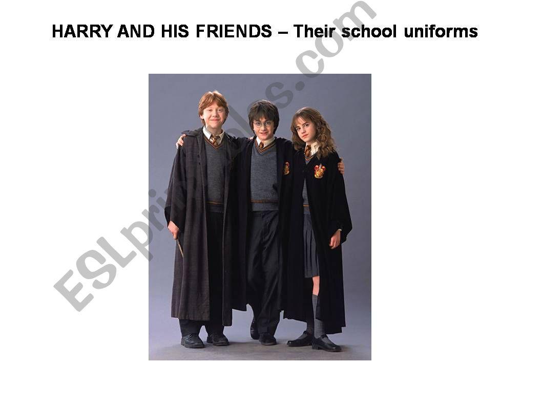 Hogwarts Uniforms powerpoint