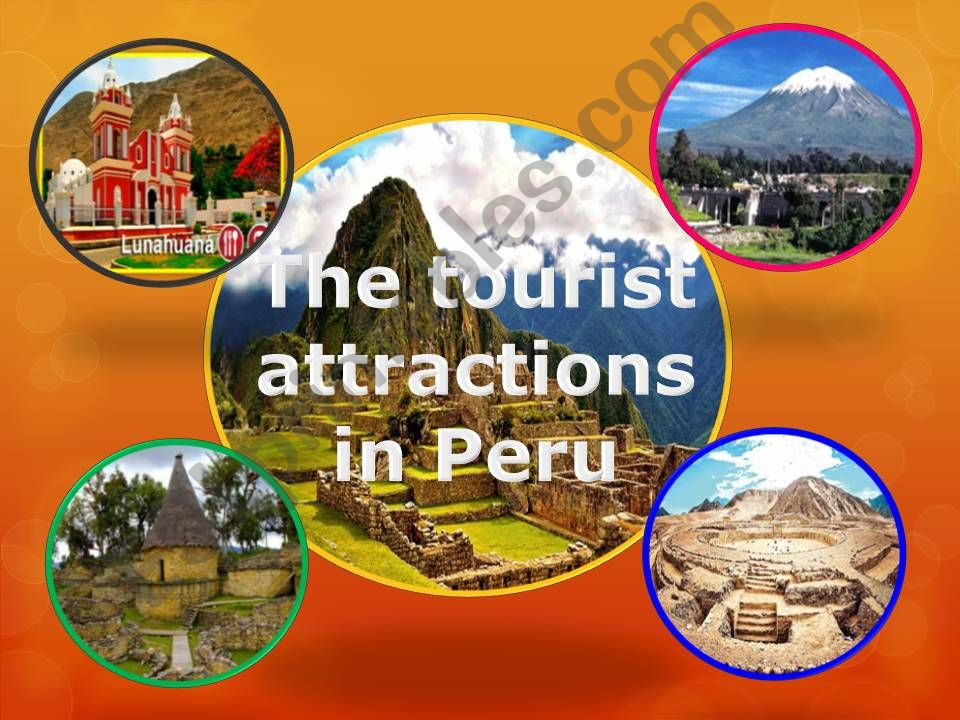 Tourist places in Peru powerpoint