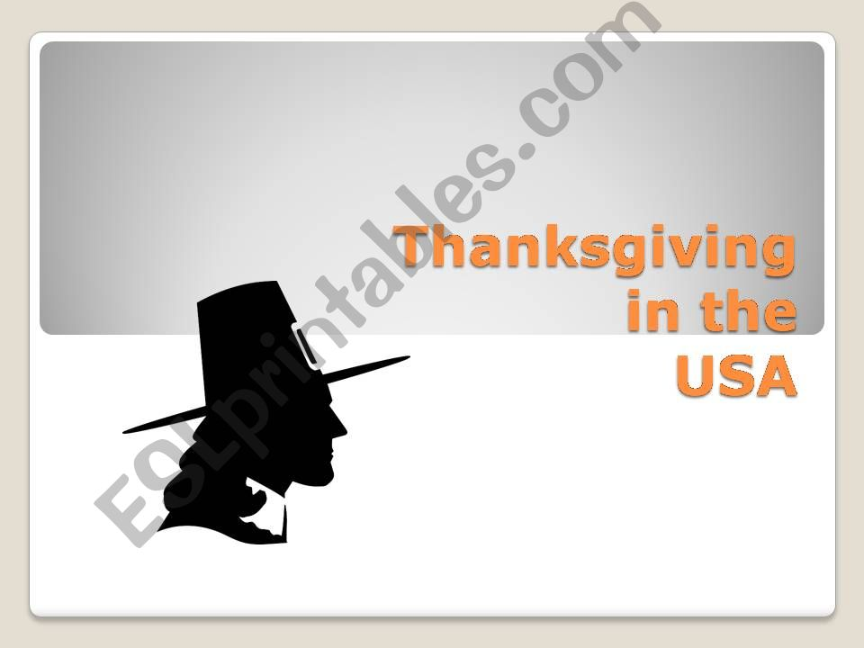 #1 of 3 THANKSGIVING powerpoint