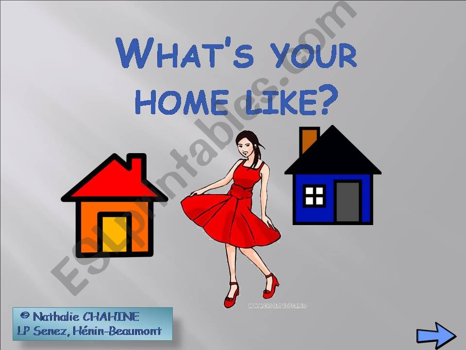 What´s your home like? powerpoint