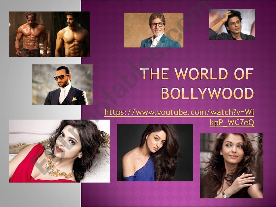 The World of Bollywood powerpoint