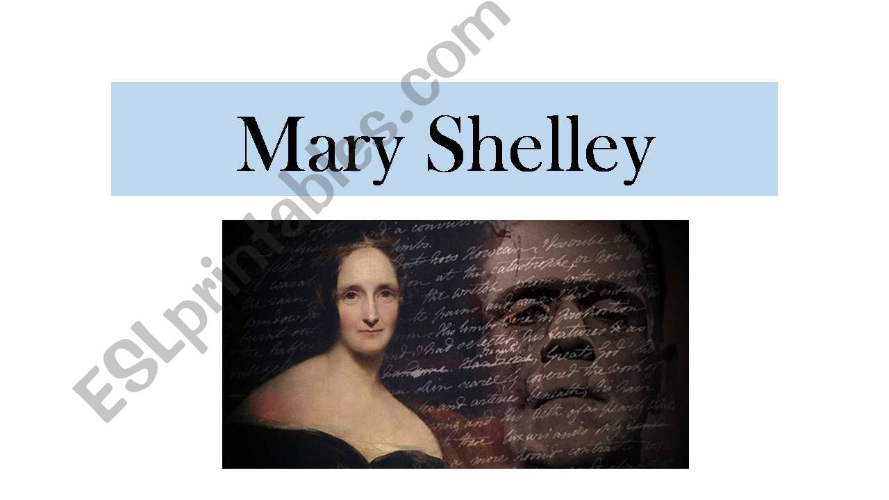Mary Shelley powerpoint