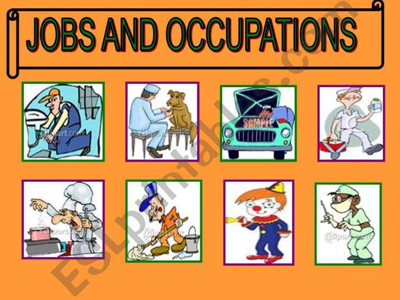 Jobs  game powerpoint
