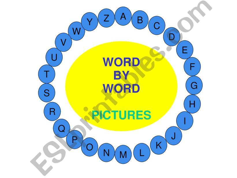 Word by Word FOOD powerpoint