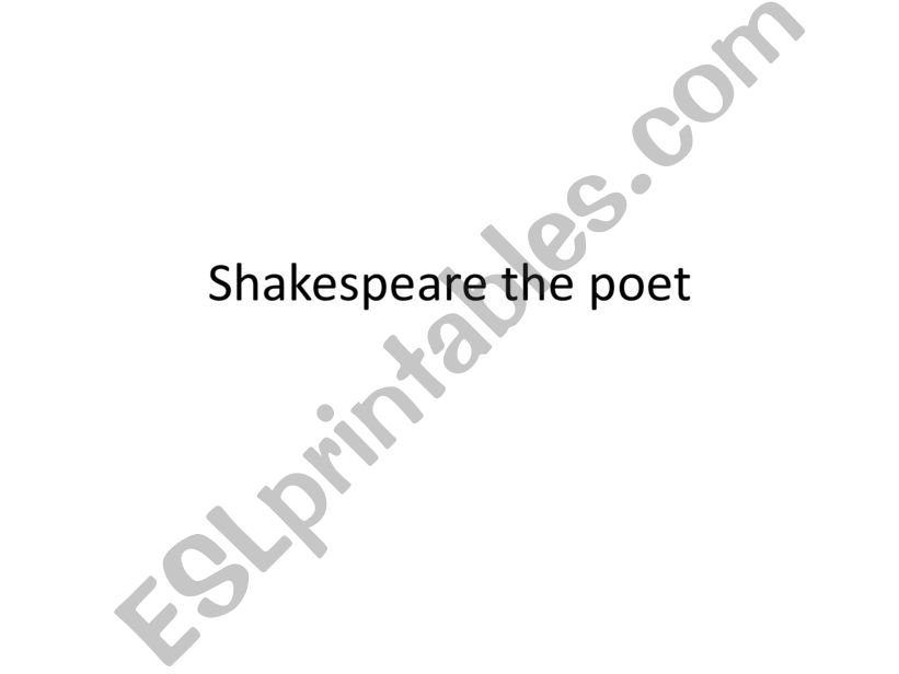 Comparison between Petrarchan and Shakespearian sonnet