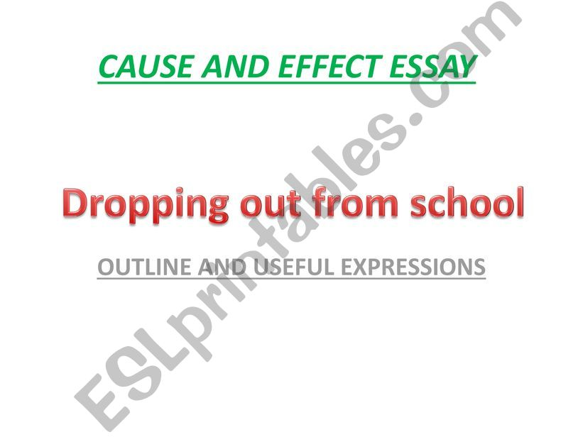 causes of girl child dropout from school