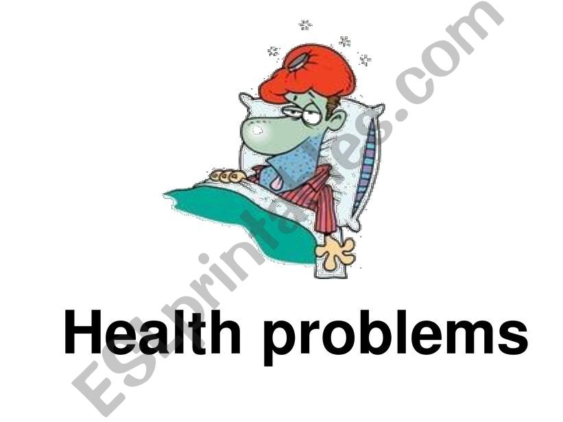 Health Problems powerpoint