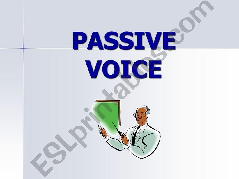 Passive voica powerpoint