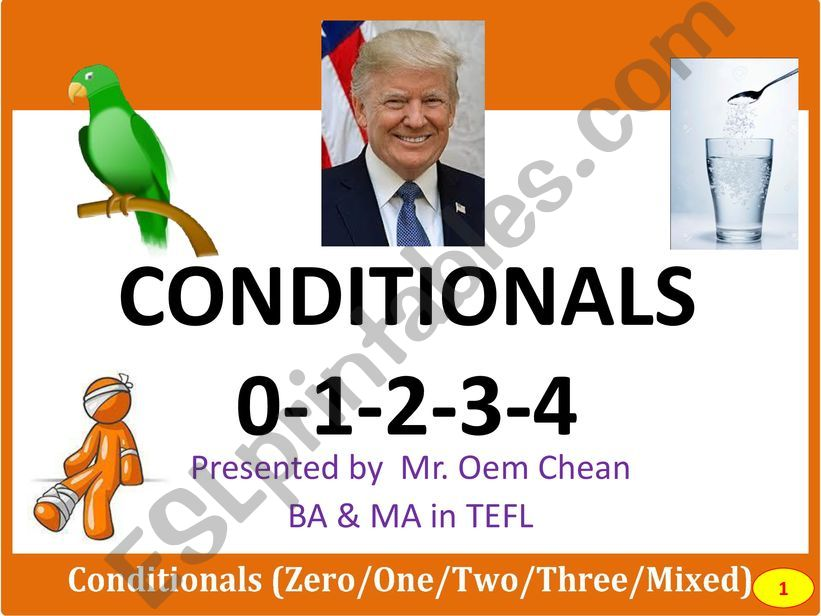 Conditional Types 0-1-2-3-4 powerpoint