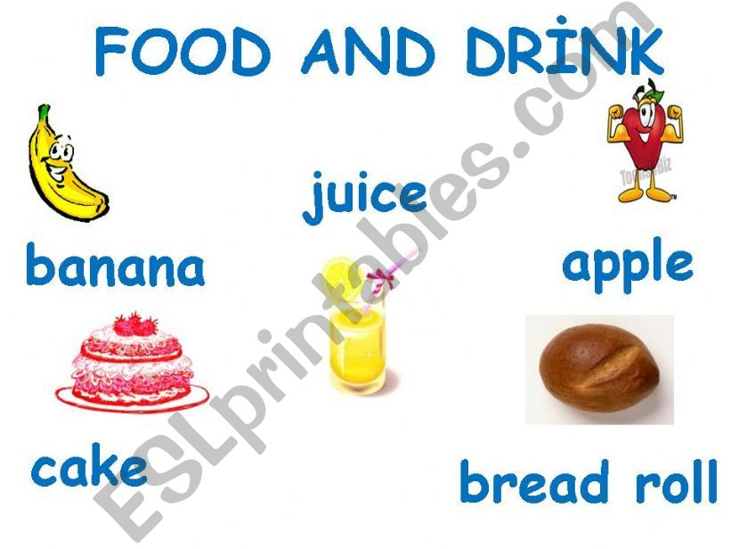food and drinks powerpoint