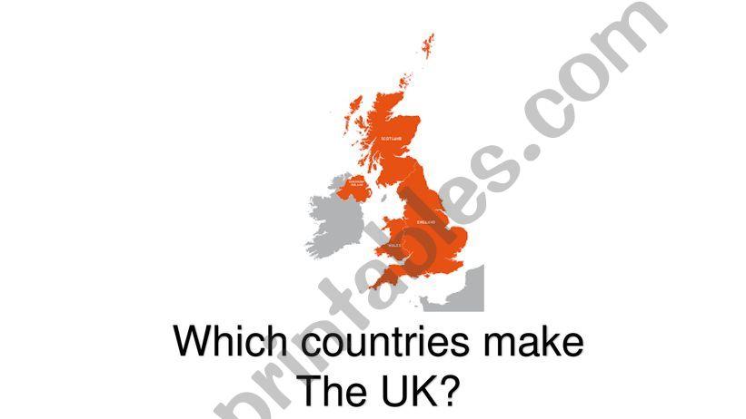 Britain Quiz powerpoint