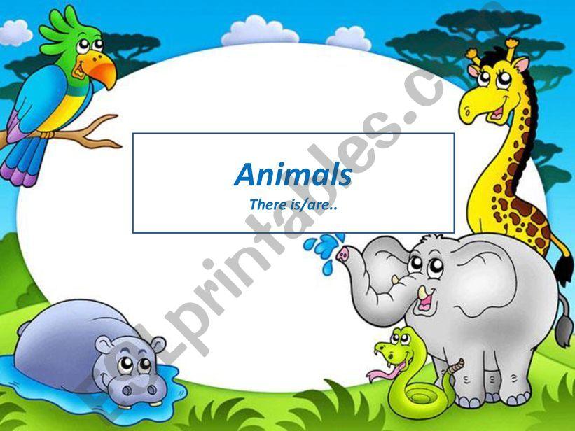 Animals, strange friends powerpoint