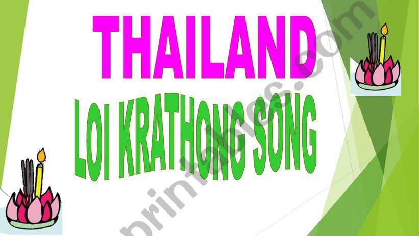Loy Krathong  powerpoint