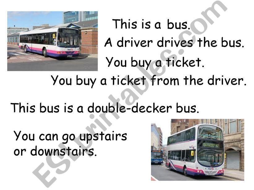 transport vocabulary powerpoint