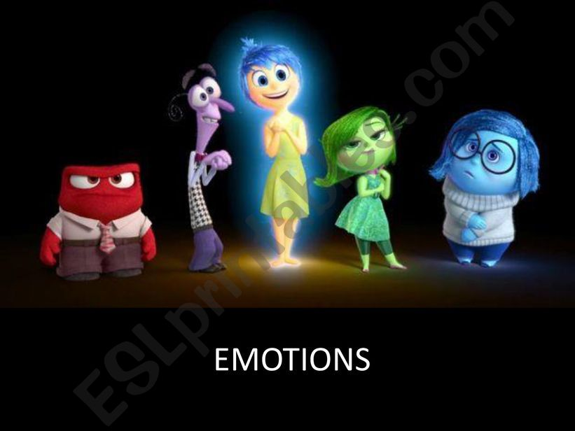 Emotions ppt powerpoint