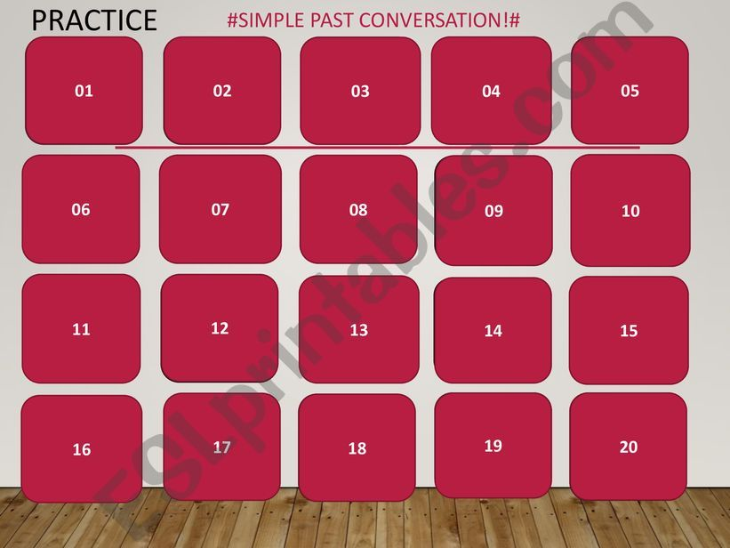 Past Simple- Practice powerpoint