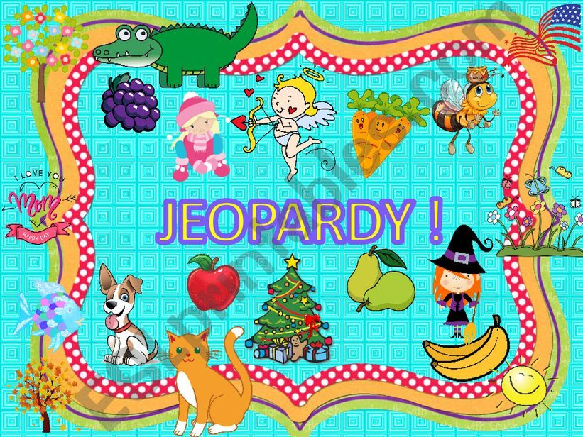 ❤❤❤ Jeopardy Review ❤❤❤