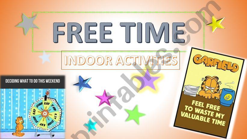 Free Time - Indoor Activities powerpoint