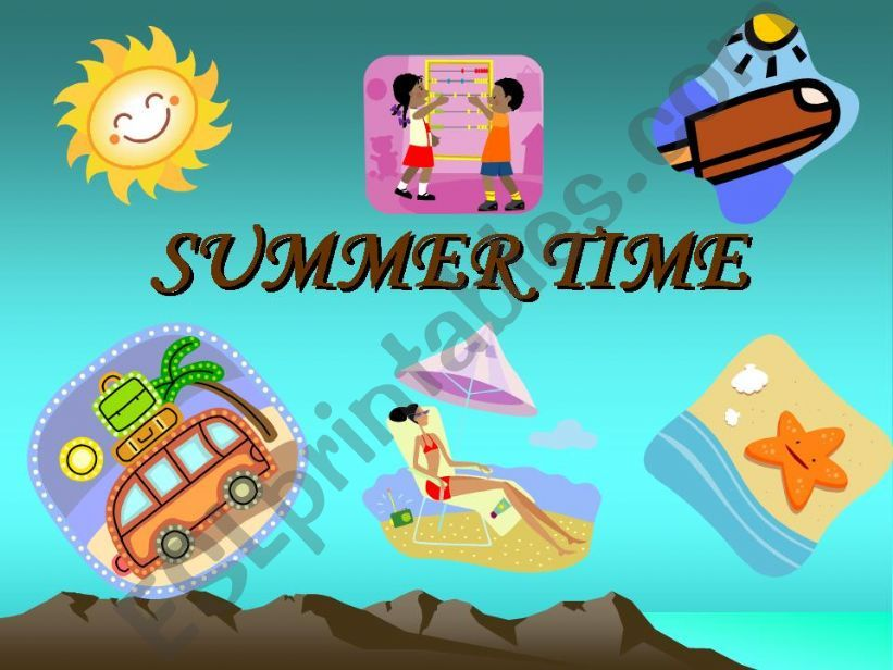 SUMMER TIME powerpoint
