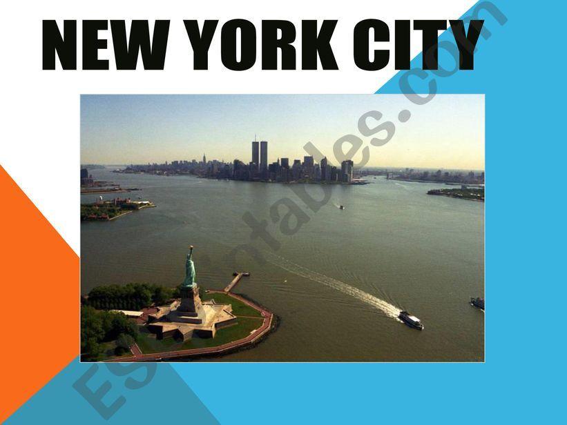 NEW YORK powerpoint
